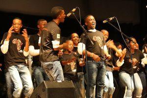 Mzansi Youth Choir gav et brag af en fællestime