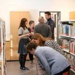 Åbning af det nye bibliotek