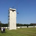 Udspring fra tårn