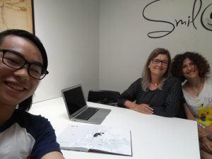 Jeff, Alice and Sarah