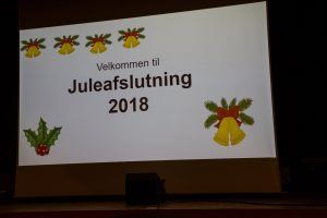 Juleafslutning 2018