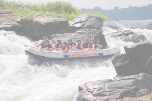 River rafting på The White Nile